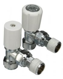 Optima Plus Angle Radiator Valve - 10mm