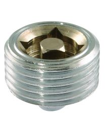 Brass Air Vent - Manual - 1/2""