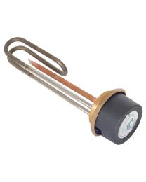 "11"" Immersion Heater Element with 7"" Thermostat"