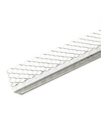 Galvanised External Render Stop Bead 2.4m 50 Pack