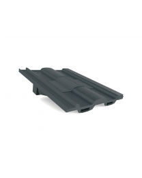 Manthorpe Grey Castellated In-line Roof Tile Vent