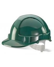 Economy Vented Safety Helmet (Green)
