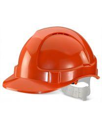 Economy Vented Safety Helmet (Orange)