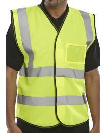 Yellow I.D. Vest