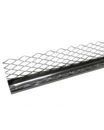 Stainless Steel External Render Stop 3m 50 Pack