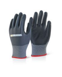 Nitrile PU Mix Coated Gloves