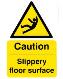 Caution Slippery Floor Surface