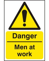 Danger Men At Work (Self adhesive vinyl)