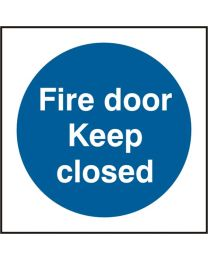 Fire door Keep closed (100mm)