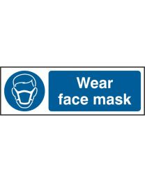 Wear Face Mask (Self adhesive vinyl)