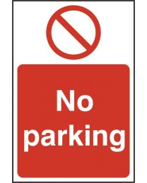 No Parking (Rigid PVC)
