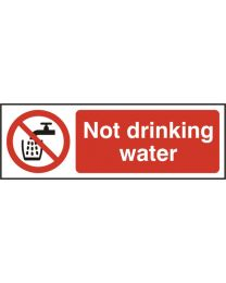 Not drinking water (Self adhesive vinyl)