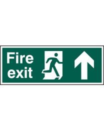 Fire exit (Man arrow up)