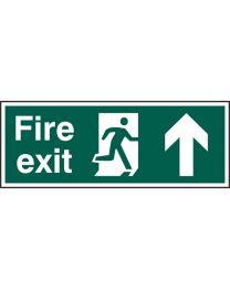 Fire exit (Man arrow up)