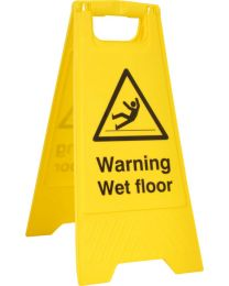 Warning Wet Floor A-Board