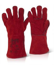 "14"" Red Welders Gauntlets"