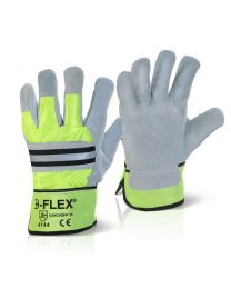 High Quality Canadian Hi-Vis Rigger Gloves