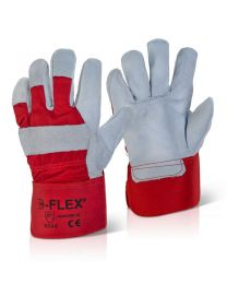High Quality Red Canadian Rigger Gloves