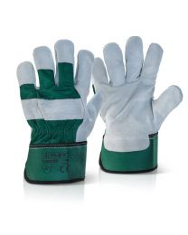 High Quality Green Canadian Rigger Gloves