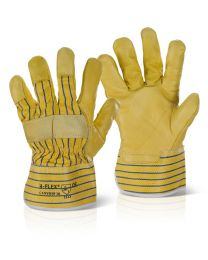 Canadian Yellow Hide Rigger Gloves
