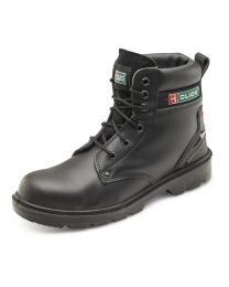 CLICK Smooth Leather 6 Inch Boot