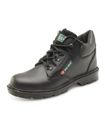 CLICK Leather Mid Cut Mid-Sole Boot