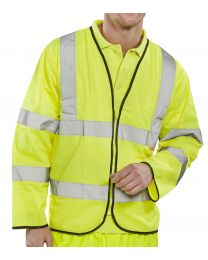 Yellow Fire Retardant Hi-Vis Jerkin
