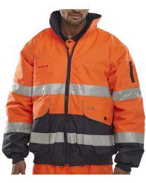 Orange Europa Bomber Jacket