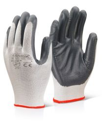 Nitrile Palm Coated Polyester Gloves