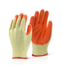 Orange Economy Grip Gloves