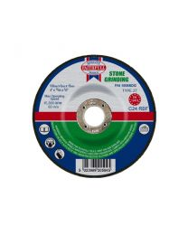 Stone Grinding Disc Depressed Centre 100 x 6 x 16mm 10 Pack