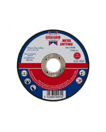 Metal Cutting Disc 115 x 3 x 22mm 10 Pack