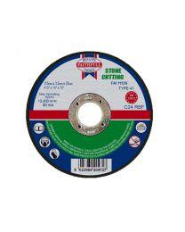 Stone Cutting Disc 115 x 3 x 22mm 10 Pack