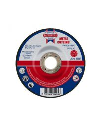 Metal Cutting Disc Depressed Centre 125 x 3 x 22mm 10 Pack