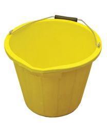 3 Gallon 14 Litre Bucket - Yellow