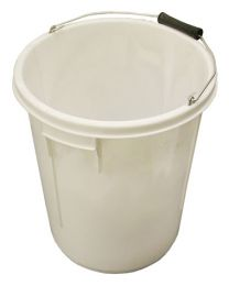 5 Gallon 25 litre Bucket - White