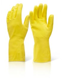 Heavyweight Yellow Household Gloves