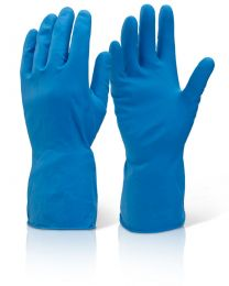 Mediumweight Blue Household Gloves