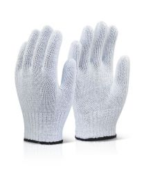 Mixed Fibre Gloves (White)