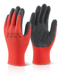 Black Multi Purpose Latex Poly Gloves