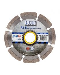 "Premier Diamond P3-B Concrete & Building Materials Blade 115 x 2.2 x 22.2mm (4.5"")"