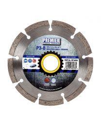 "Premier Diamond P3-B Concrete & Building Materials Blade 125 x 2.2 x 22.2mm (5"")"