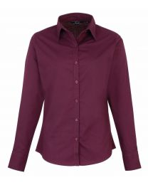 Premier Poplin Long Sleeve Blouse