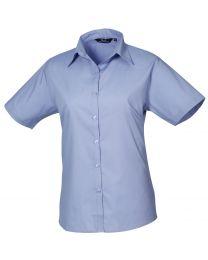 Premier Short Sleeve Poplin Blouse
