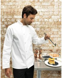 Premier Studded Front Long Sleeved Chef's Jacket