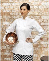 Premier Ladies Long Sleeved Chef's Jacket