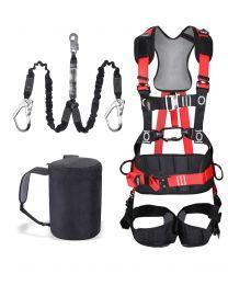 Traega Premium Comfort Scaffolders Harness Kit  Twin Leg