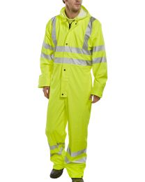 Yellow Super B-Dri EN471 Coverall