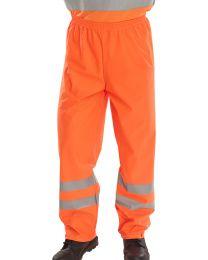 Orange Super B-Dri EN471 Trousers