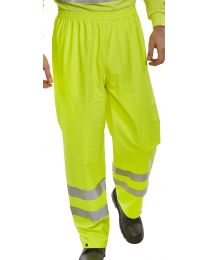 Yellow Super B-Dri EN471 Trousers